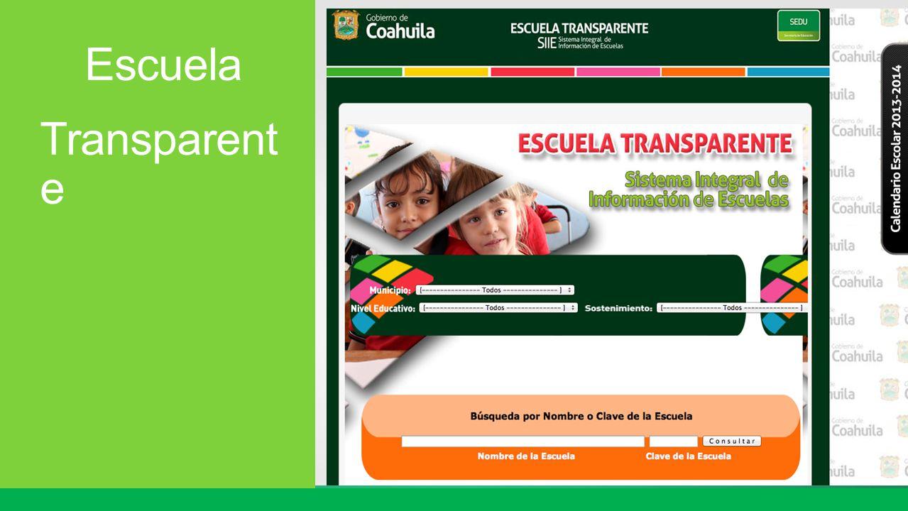 Escuela Transparent e