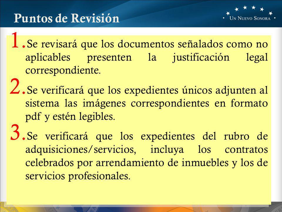 Puntos de Revisión 1.
