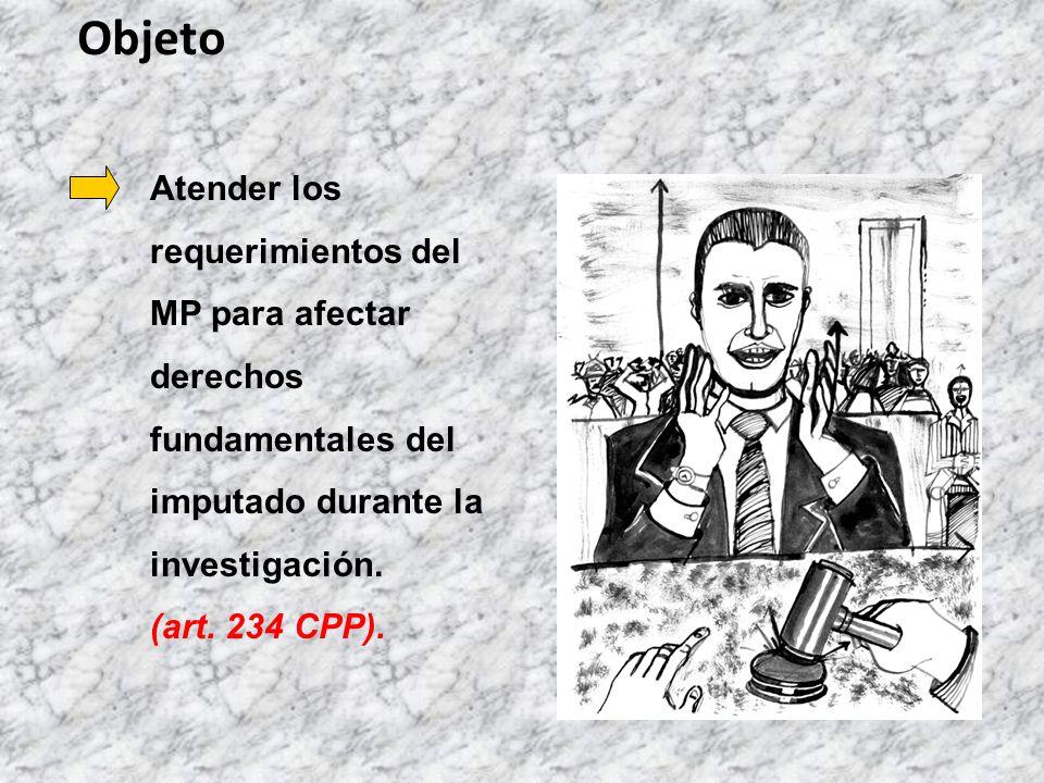 De Trámite Tipos de Audiencias Preliminares 1.Imposición de medida cautelar personal (art.