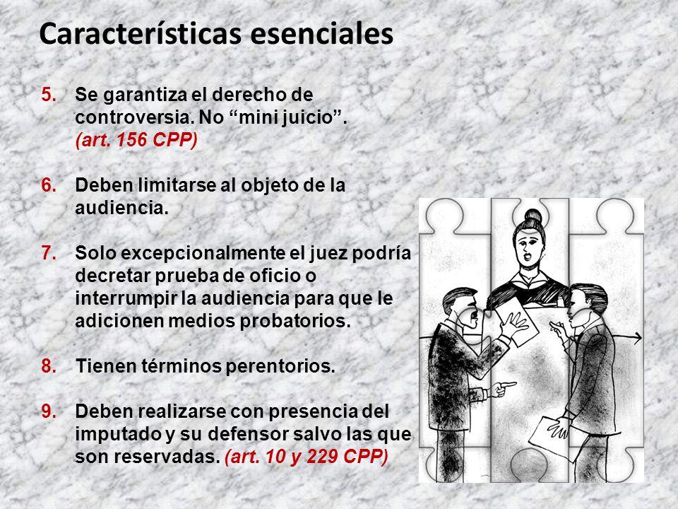 10.El examen es constitucional, de respeto de derechos fundamentales y garantías esenciales.