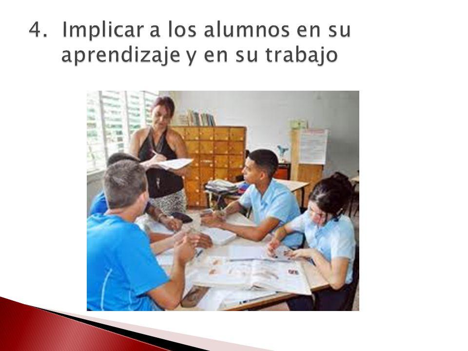 Desarrollando su capacidad de autoevaluación y el hacer explícito los contratos didácticos en las clases.