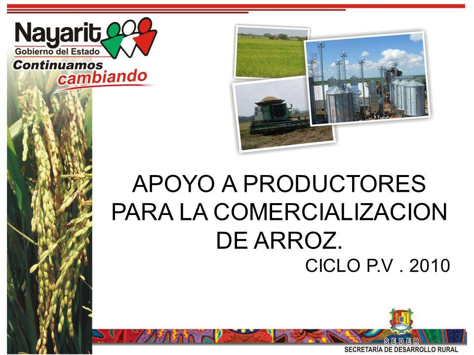 Actualmente en México se consumen 1.08 millones de toneladas anuales de arroz, a partir del 2005 se importa el 75% del consumo nacional, dejando se ser autosuficientes en el año 1989; En 2010 la caída de producción por precios bajos ocasionará una mayor dependencia del exterior.
