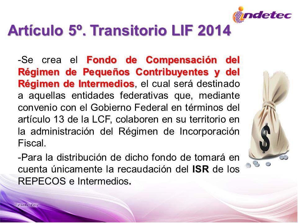 Fondo de Compensación del Régimen de Pequeños Contribuyentes y del Régimen de Intermedios -Se crea el Fondo de Compensación del Régimen de Pequeños Co
