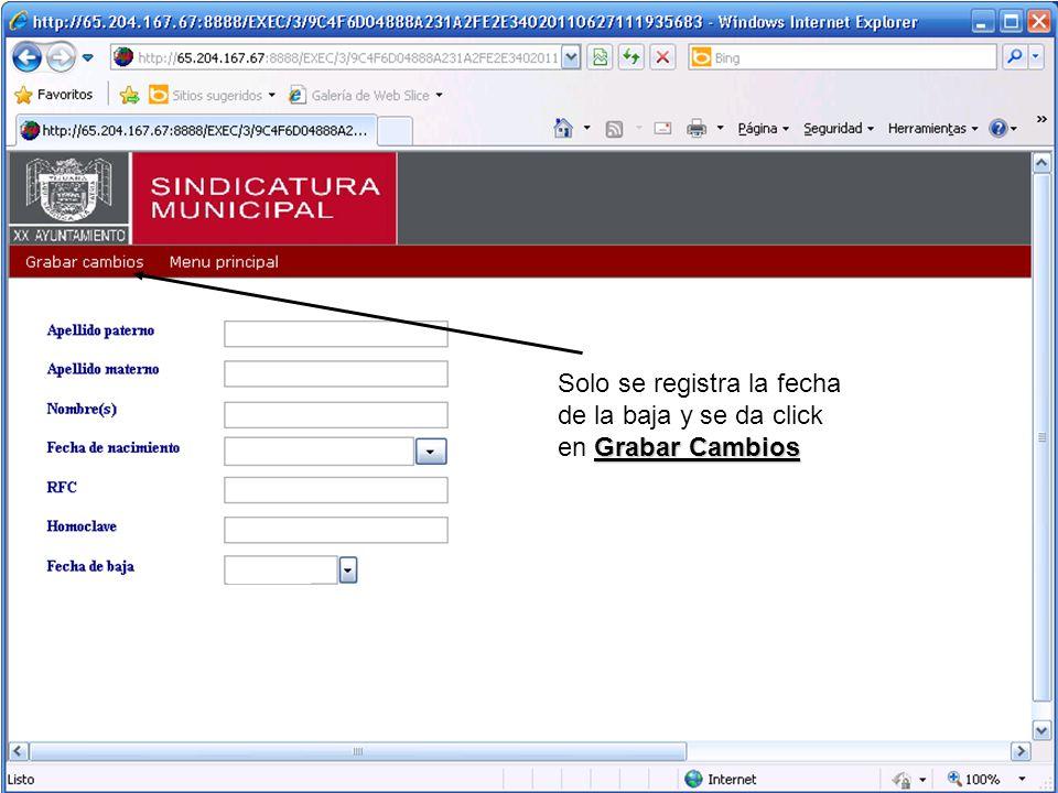 Automáticamente se va a generar un oficio donde se notifica al servidor publico su obligación a presentar su declaración