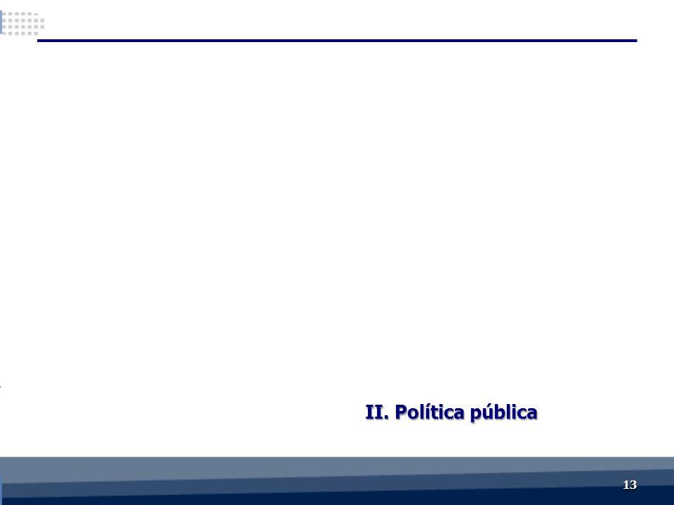 II. Política pública 1313