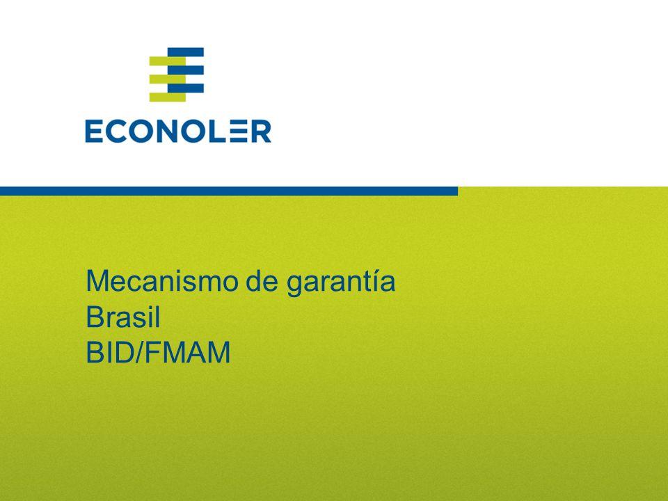 77 Mecanismo de garantía Brasil BID/FMAM
