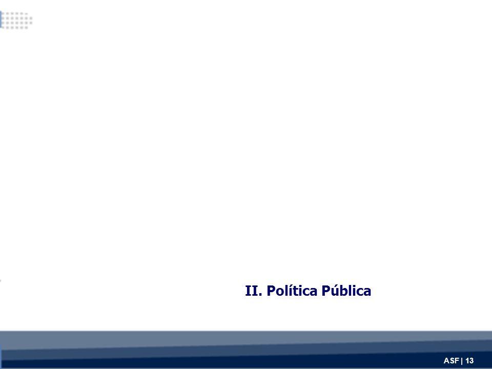 II. Política Pública ASF | 13