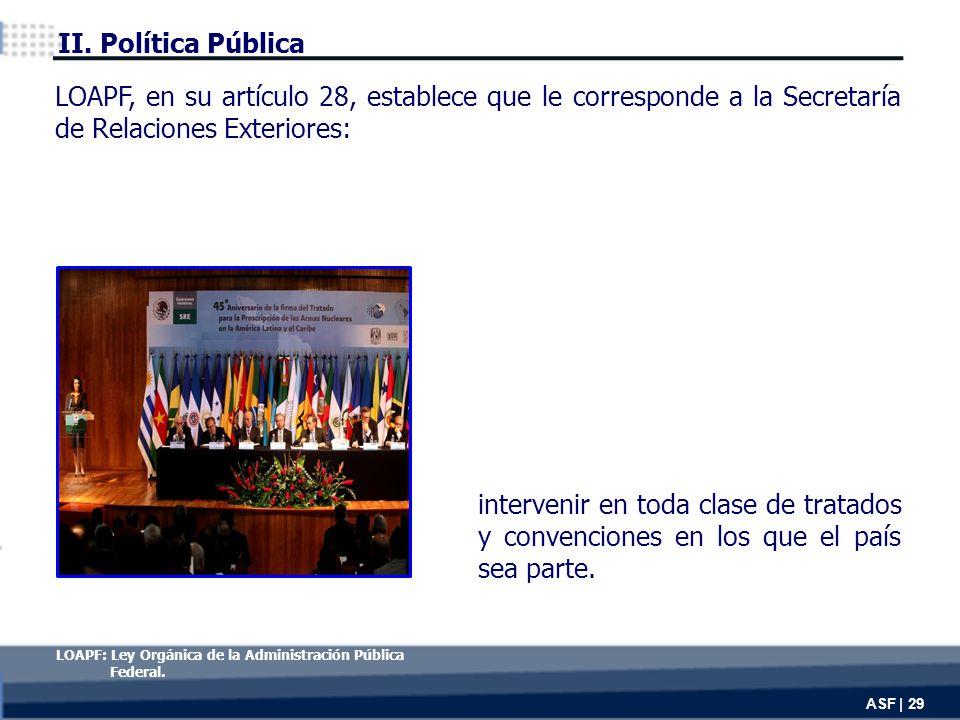 intervenir en toda clase de tratados y convenciones en los que el país sea parte.