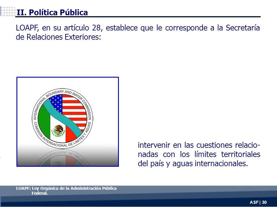 intervenir en las cuestiones relacio- nadas con los límites territoriales del país y aguas internacionales.
