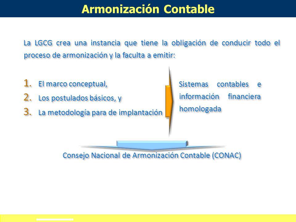 Definición de alcances del curso-taller Armonización Contable Diciembre 31, de 2008 se publicó la Ley General de Contabilidad Gubernamental (LGCG), la