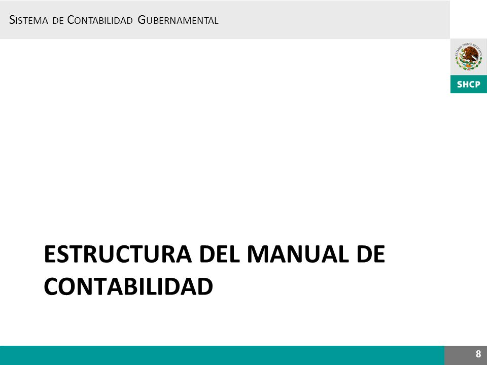 SISTEMA DE CONTABILIDAD GUBERNAMENTAL –SCG- 29