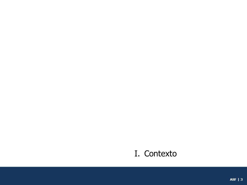 ASF | 2 Contenido I.Contexto II.Política pública III.Universal conceptual IV.