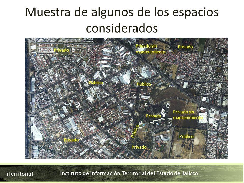 Instituto de Información Territorial del Estado de Jalisco iTerritorial Privado Privado sin mantenimiento Privado Público Privado Privado sin mantenim