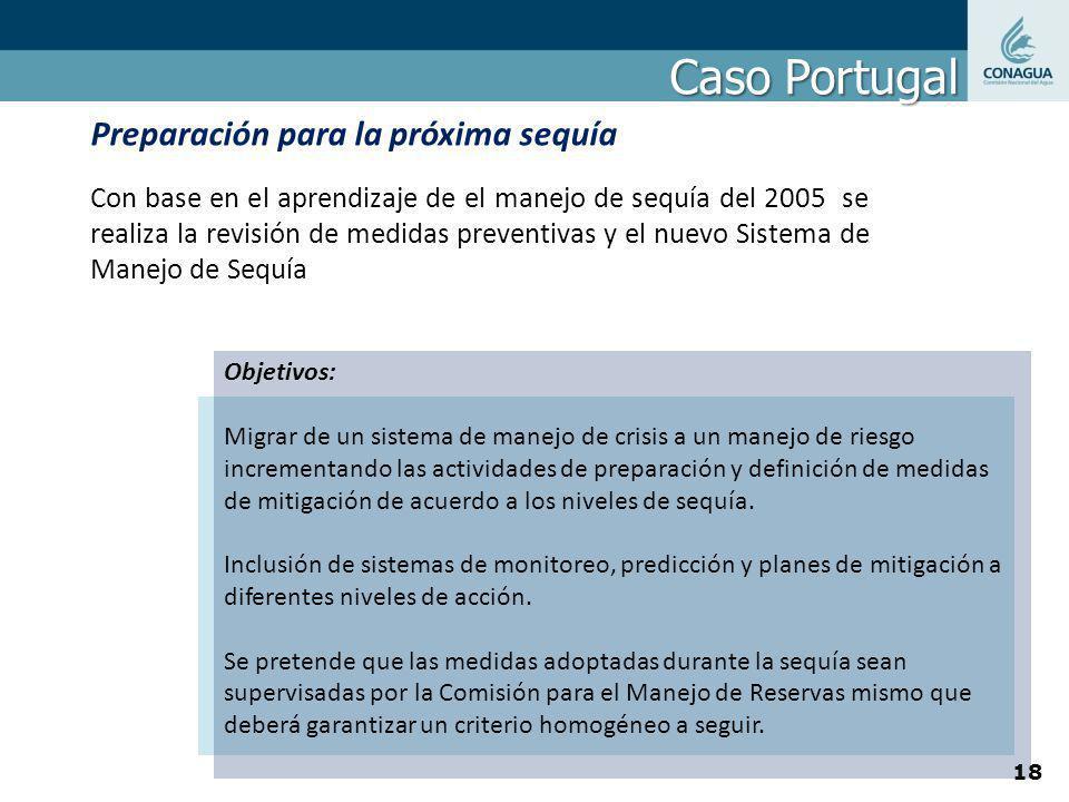 Objetivos: Migrar de un sistema de manejo de crisis a un manejo de riesgo incrementando las actividades de preparación y definición de medidas de miti