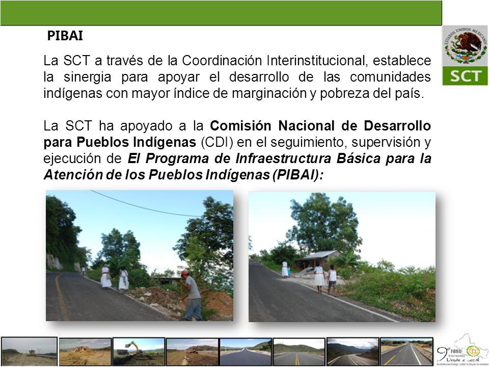PIBAI La SCT a través de la Coordinación Interinstitucional, establece la sinergia para apoyar el desarrollo de las comunidades indígenas con mayor ín