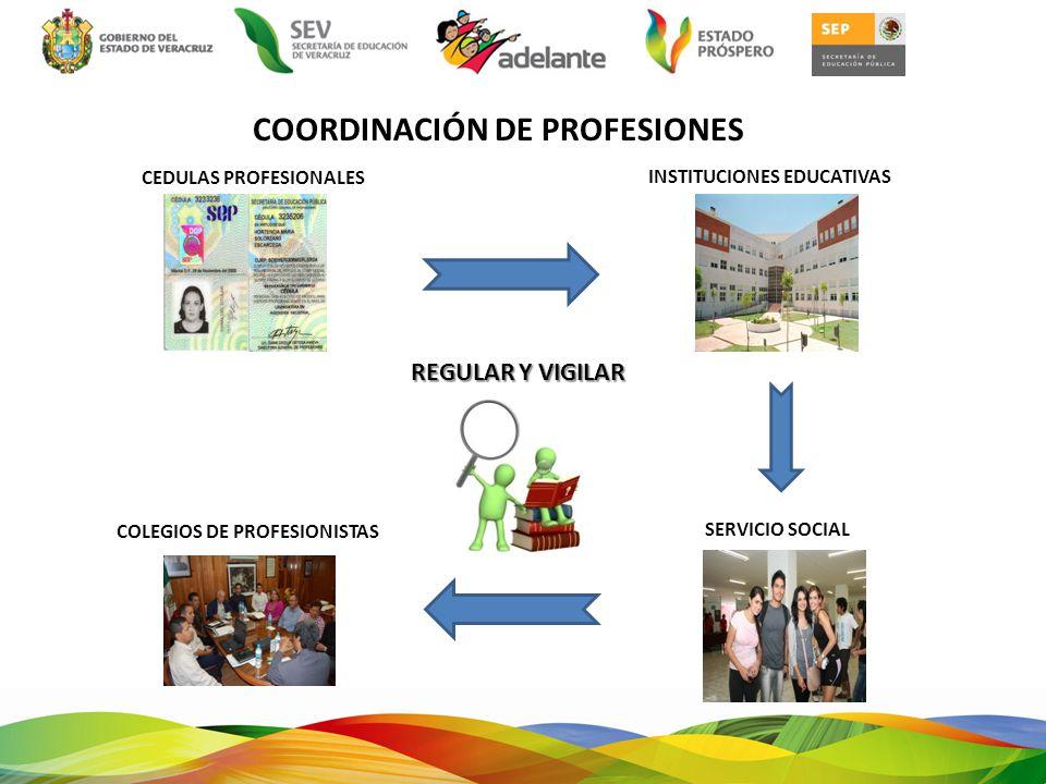 NORMATIVIDAD CONSTITUCIÓN POLÍTICA DEL ESTADO DE VERACRUZ LEY DE EDUCACIÓN LEY REGLAMENTARIA DEL ART 5° CONSTITUCIONAL Y SU REGLAMENTO LEY DEL EJERCICIO PROFESIONAL PARA EL ESTADO DE VERACRUZ-LLAVE REGLAMENTO INTERIOR DE LA SECRETARIA DE EDUCACIÓN DE VERACRUZ