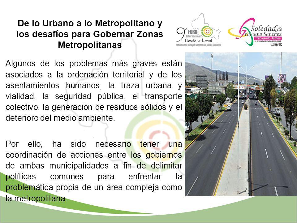 Algunos de los problemas más graves están asociados a la ordenación territorial y de los asentamientos humanos, la traza urbana y vialidad, la segurid