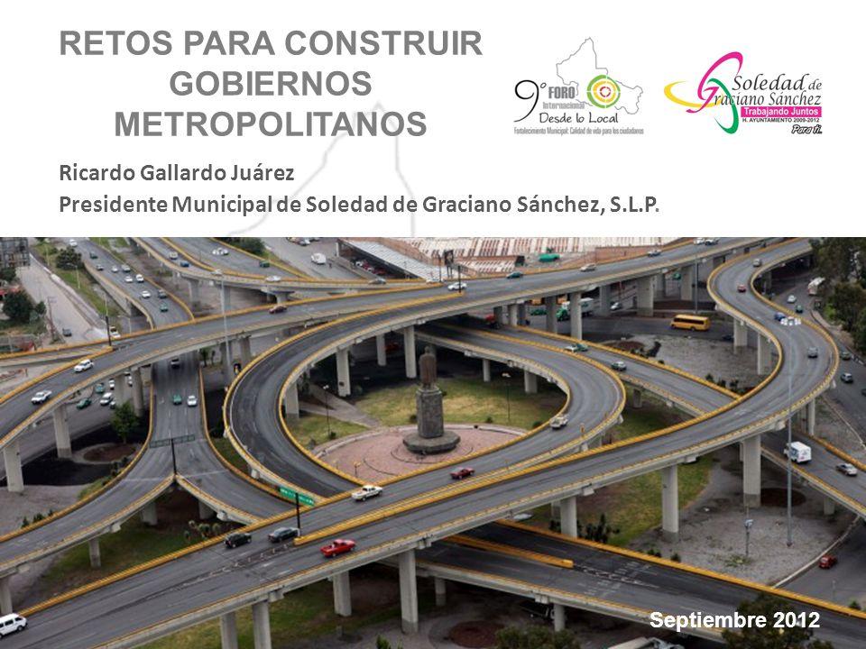 Esta Zona Metropolitana constituye la zona urbana más importante del Estado de San Luis Potosí, toda vez que allí se concentra 1/3 de población estatal, además de ser el principal centro industrial, comercial, de servicios y cultural.