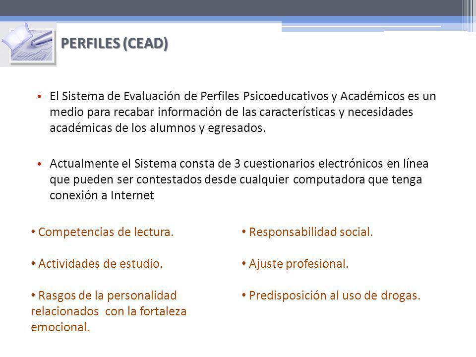El Sistema de Evaluación de Perfiles Psicoeducativos y Académicos es un medio para recabar información de las características y necesidades académicas