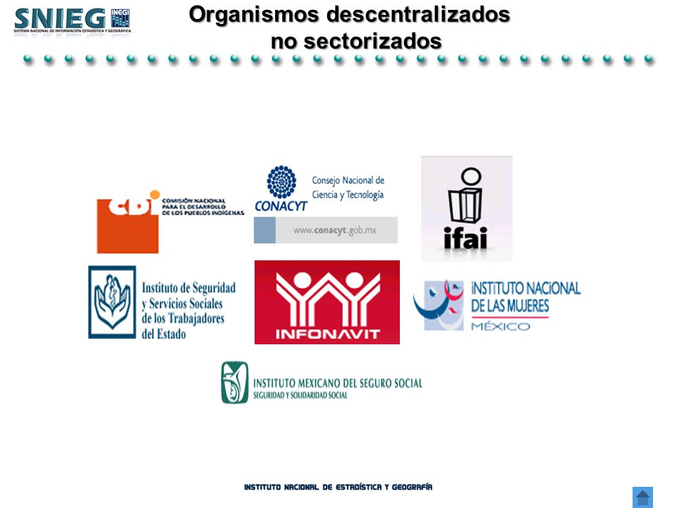 Organismos descentralizados no sectorizados no sectorizados