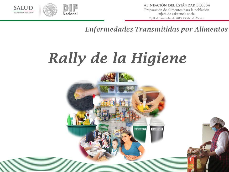 Rally de la Higiene Enfermedades Transmitidas por Alimentos