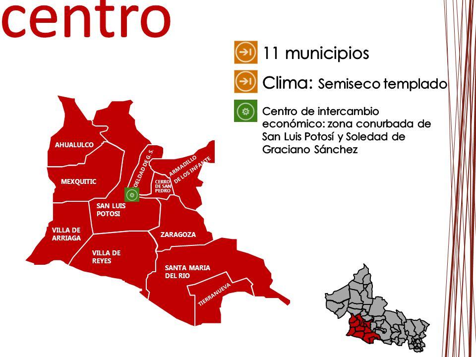 VILLA DE REYES SANTA MARIA DEL RIO TIERRANUEVA AHUALULCO SAN LUIS POTOSI VILLA DE ARRIAGA ZARAGOZA SOELDAD DE G. S. MEXQUITIC ARMADILLO DE LOS INFANTE