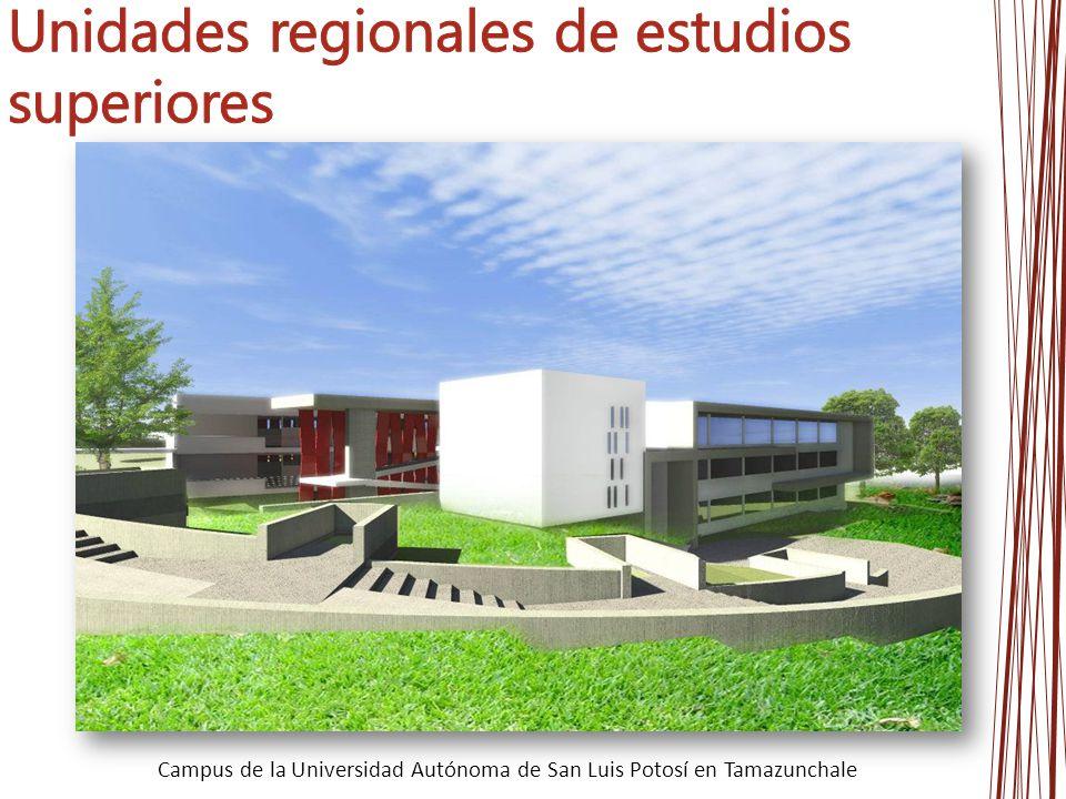 Campus de la Universidad Autónoma de San Luis Potosí en Tamazunchale