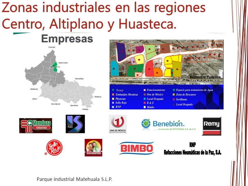 Parque industrial Matehuala S.L.P.