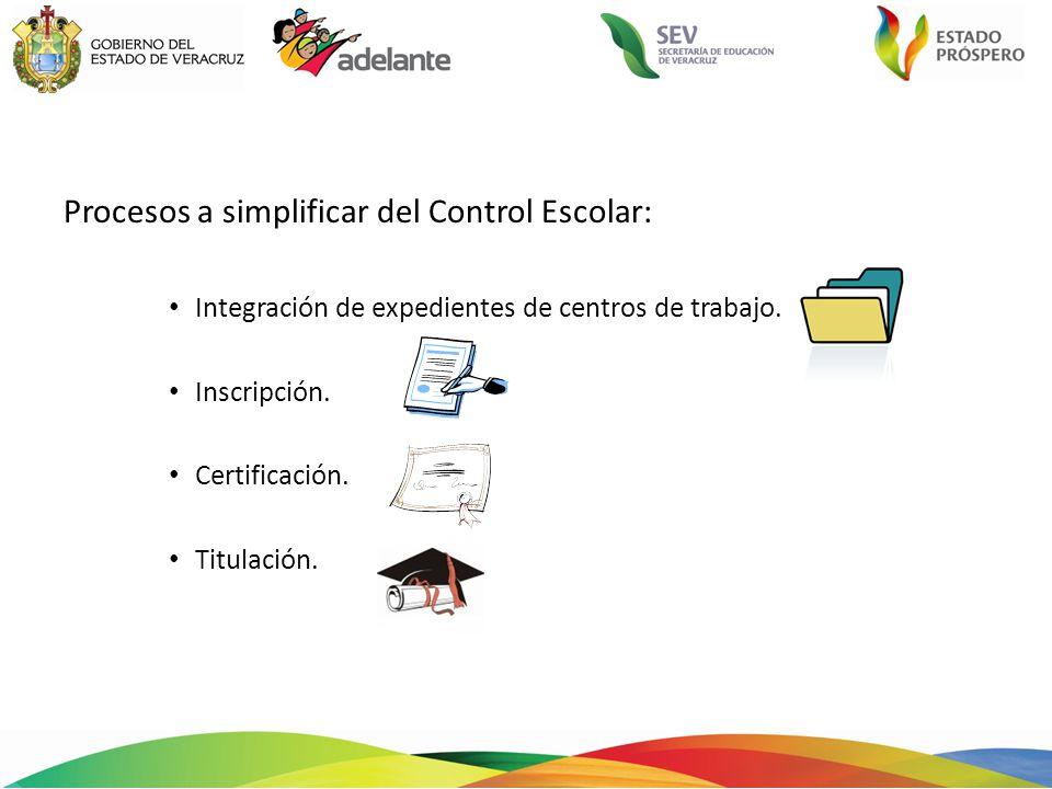 20 documentos 11documentos Integración de expedientes de Centros de trabajo.