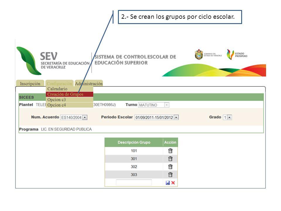 3.-Se capturan los datos generales del alumno, para generar el reporte de inscripción.