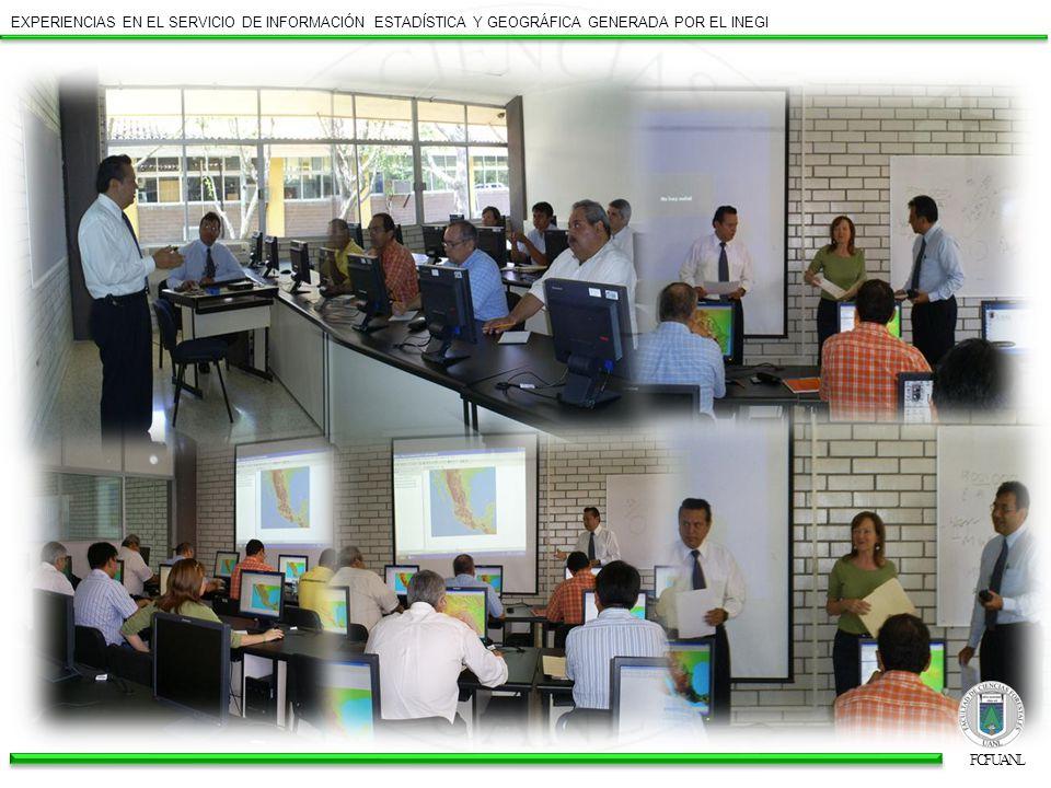 Hemos recibido siempre un trato excelente y oportuno por parte del personal que nos atiende en INEGI, tanto cuando ellos visitan nuestras instalaciones, como cuando solicitamos sus servicios en la sede de Monterrey.
