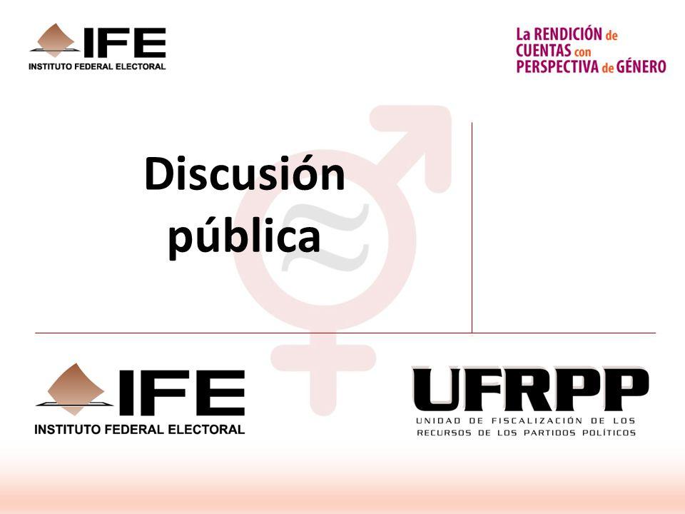 Discusión pública