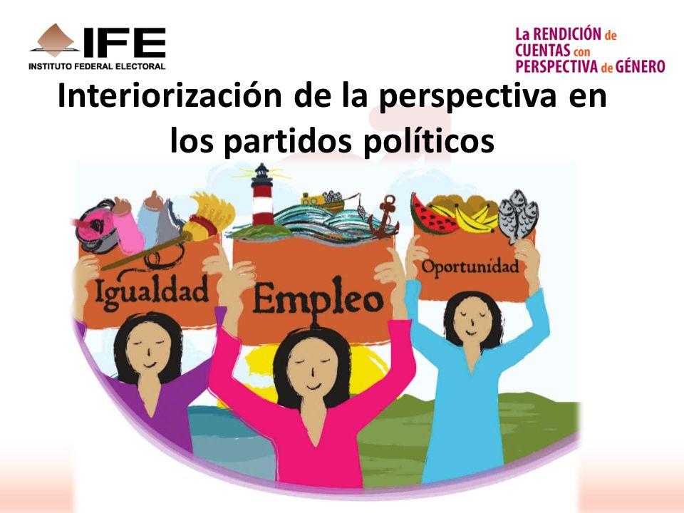 Interiorización de la perspectiva en los partidos políticos