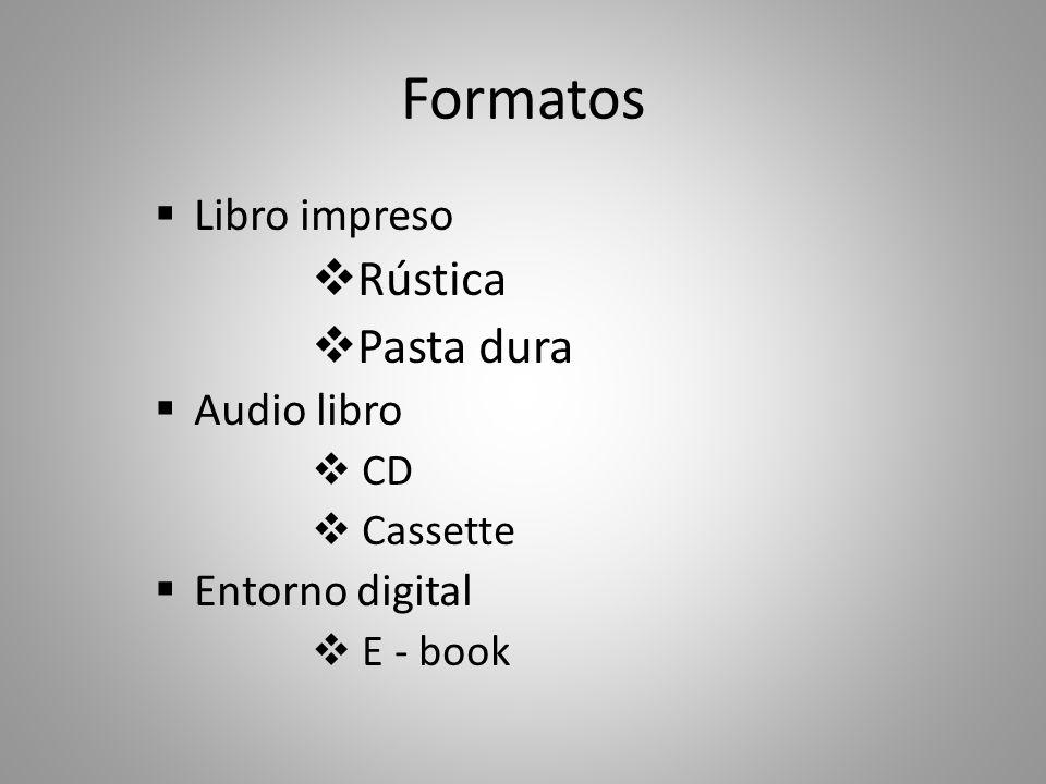 Autor (obra) Autor (obra) Editor Impresor Distribuidor o Librero Distribuidor o Librero Lector Libro Impreso: