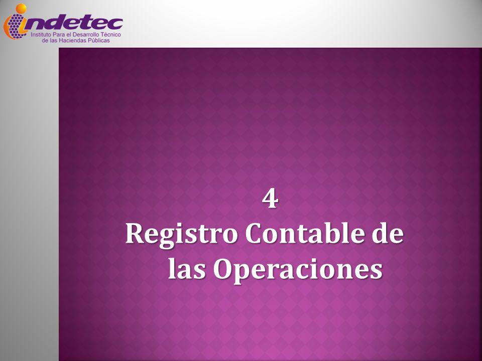 4 Registro Contable de las Operaciones