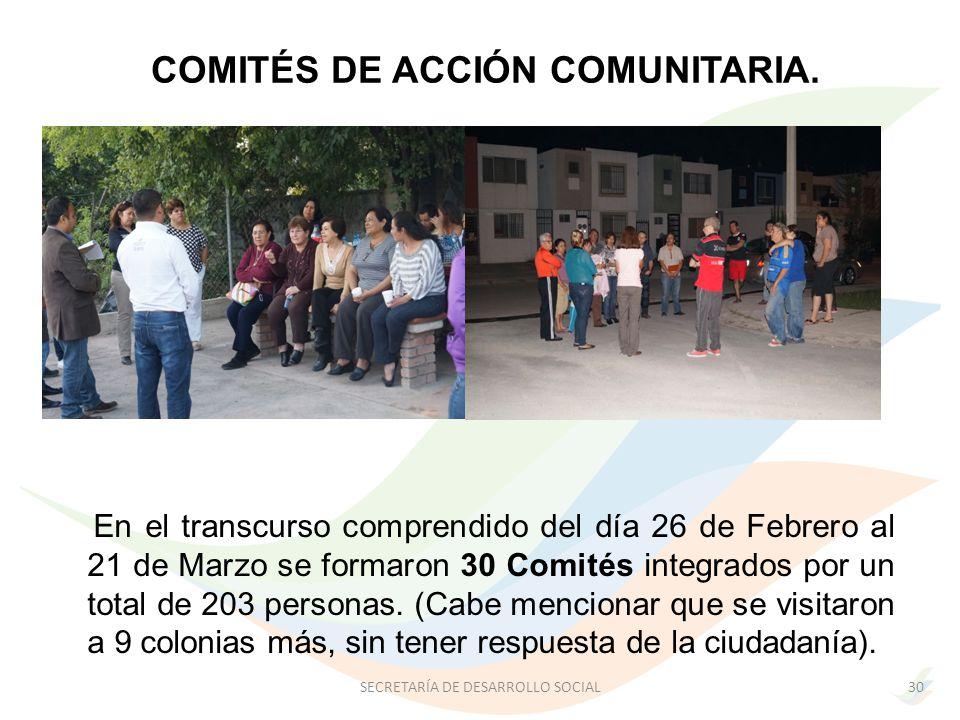 COMITÉS DE ACCIÓN COMUNITARIA.