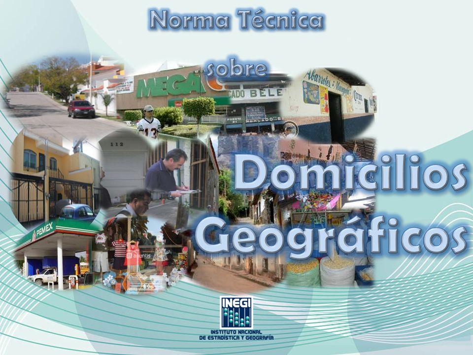 Sistema para la captura de Domicilios Geográficos.