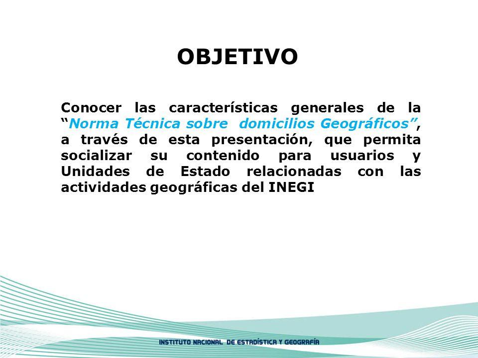 CAPÍTULO IV. ALMACENAMIENTO DE INFORMACIÓN DE DOMICILIOS GEOGRÁFICOS