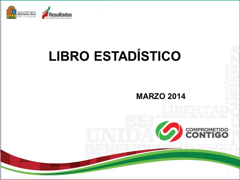 LIBRO ESTADÍSTICO MARZO 2014 1