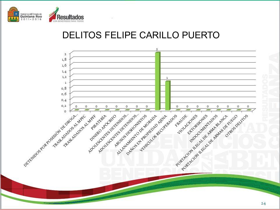 DELITOS FELIPE CARILLO PUERTO 24