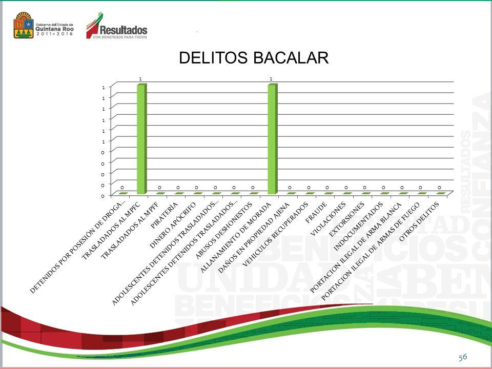 56 DELITOS BACALAR