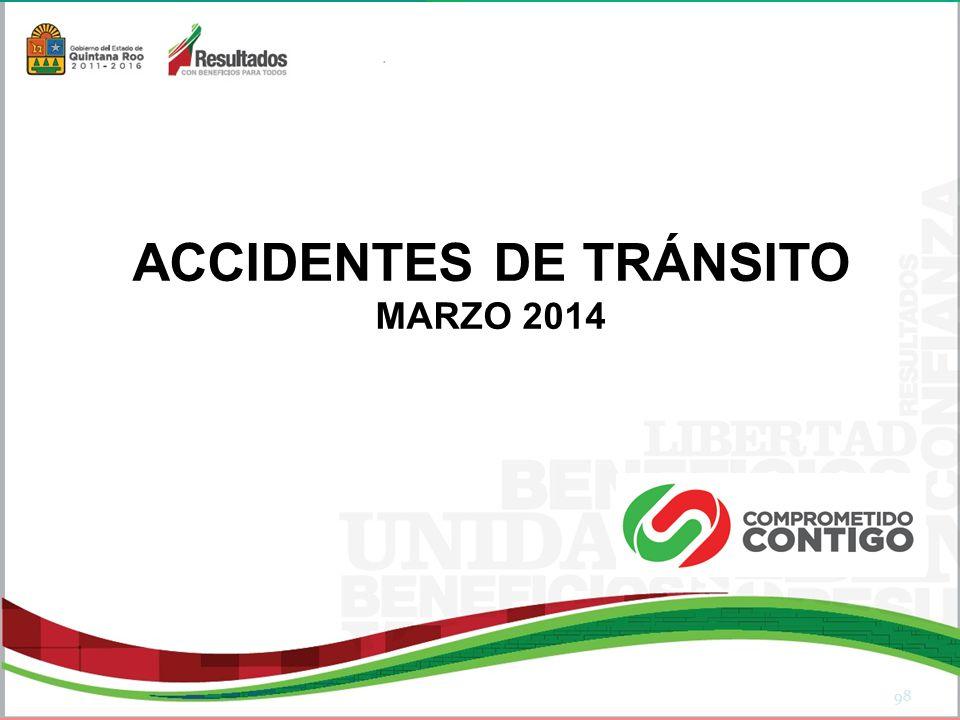 ACCIDENTES DE TRÁNSITO MARZO 2014 98