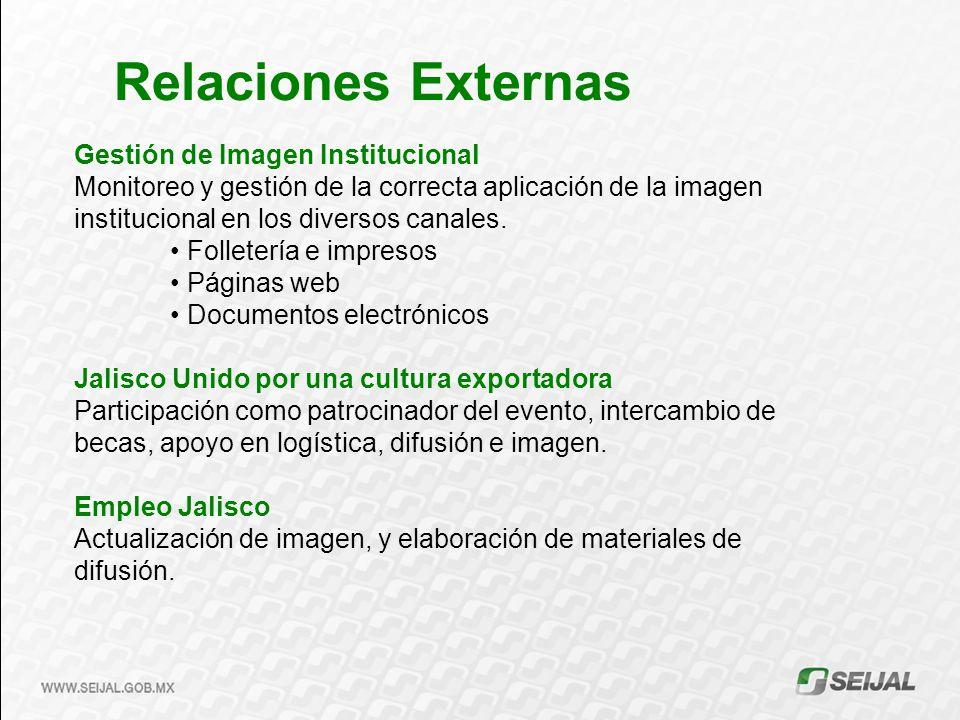 Gestión de Imagen Institucional Monitoreo y gestión de la correcta aplicación de la imagen institucional en los diversos canales.