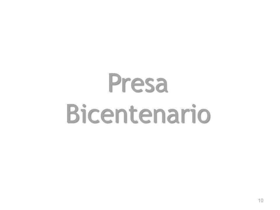Presa Bicentenario 10