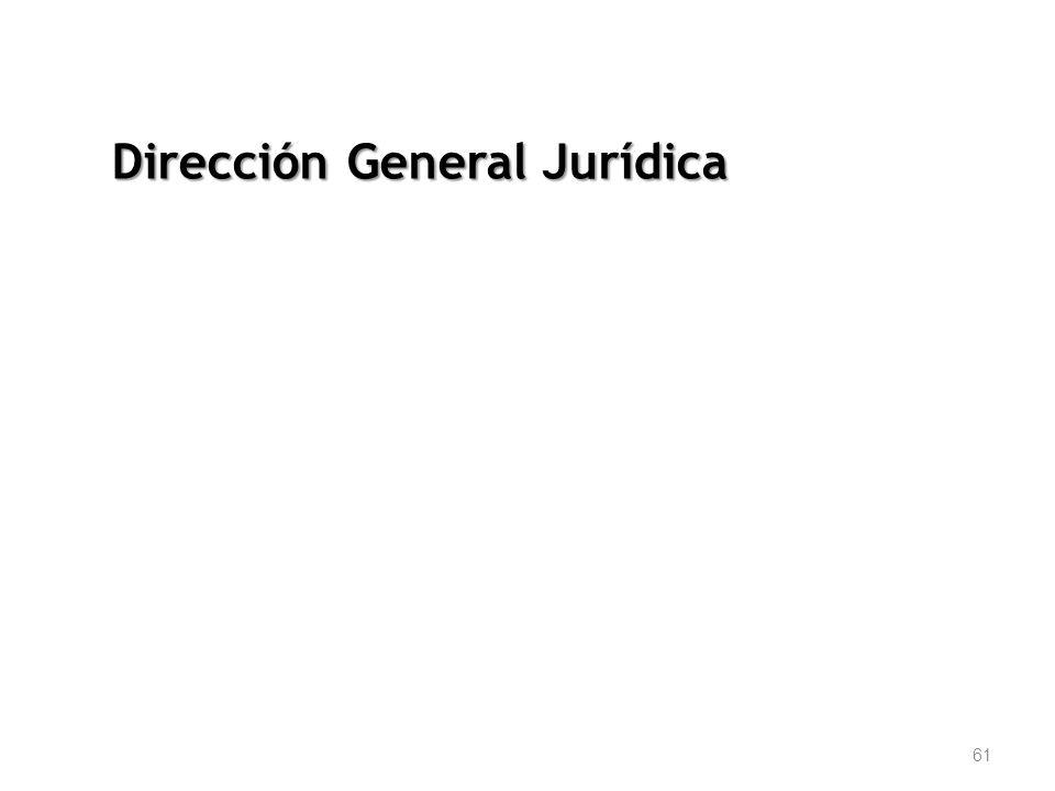 61 Dirección General Jurídica