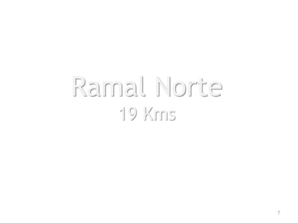 Ramal Norte 19 Kms 7