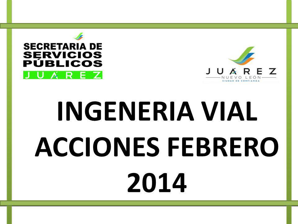 INGENERIA VIAL ACCIONES FEBRERO 2014