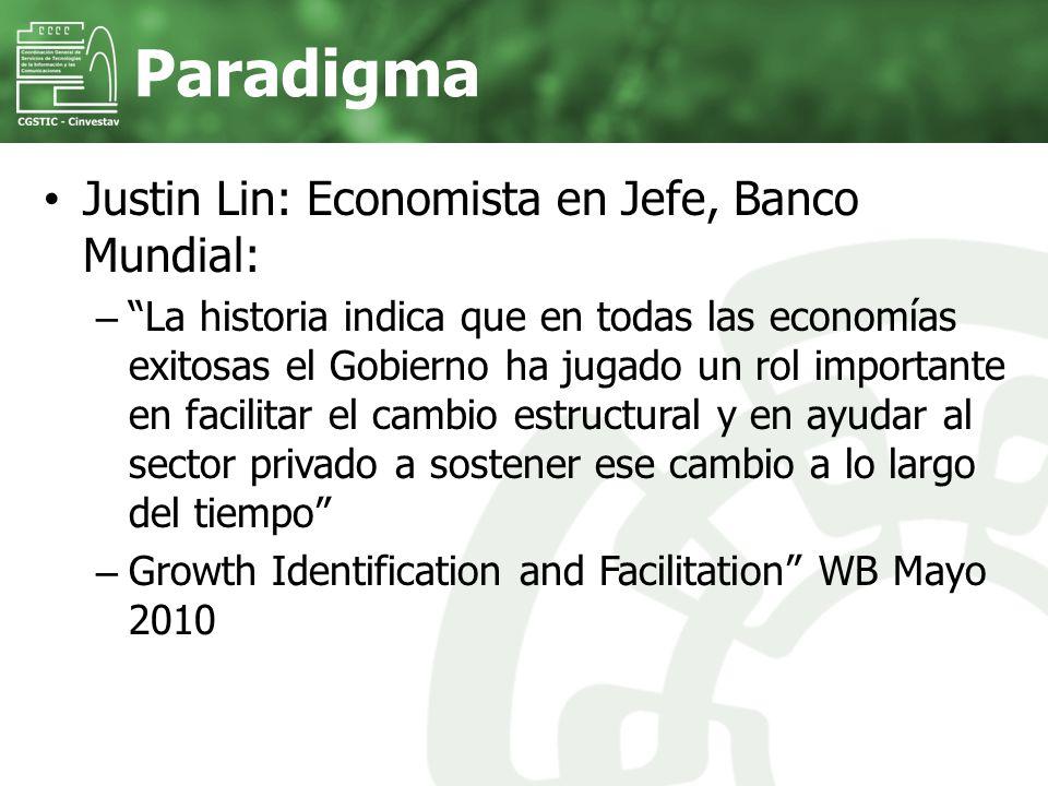 Justin Lin: Economista en Jefe, Banco Mundial: – La historia indica que en todas las economías exitosas el Gobierno ha jugado un rol importante en fac