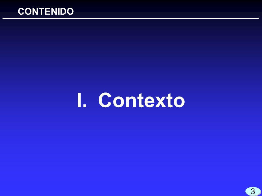 I.Contexto CONTENIDO 3 3
