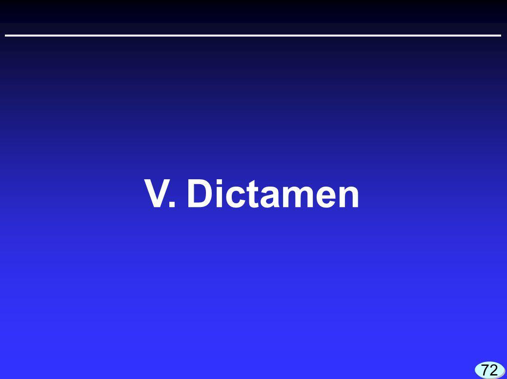 V.Dictamen 72